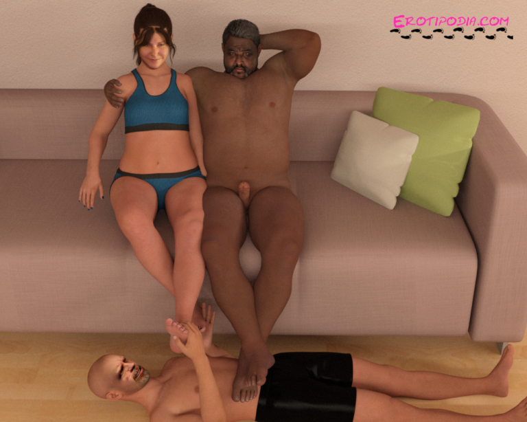 Stephanie & Albert Train a Cuck